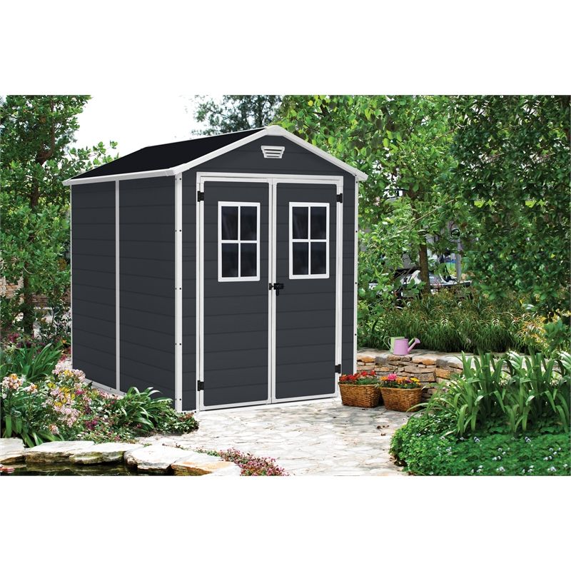 Keter 1858 x 2368 x 2270mm Manor 6 x 8 Garden Shed Shed