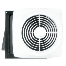Broan 12c Motordor Through Wall Installation 8 Inch White Fan Ventilator Wall Exhaust Fan Exhaust Fan Bathroom Fan