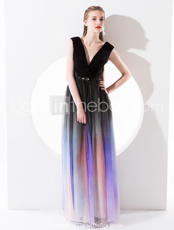 Este vestido de noche de gasa creará un look gótico - EUR € 128.93