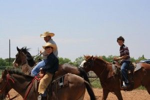 Horseback riding with our homeschool association