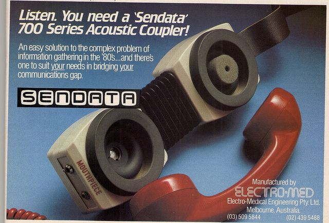 This will revolutionize the way you communicate! | Modems Of The 1980s by glen.h
