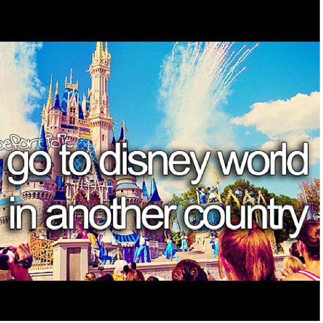 ❤ DONE!!! Paris Disney world!!