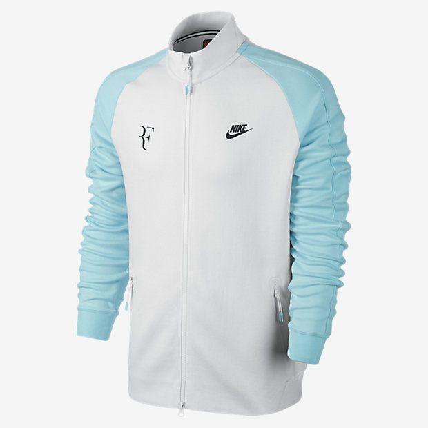 nike tennis jacket federer