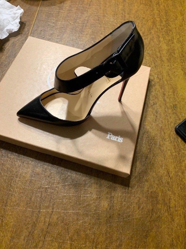 47adeee0c5ba ENDING SOON  New Christian Louboutin Black Sharpeta Pump shoes size 39   shoes  designer