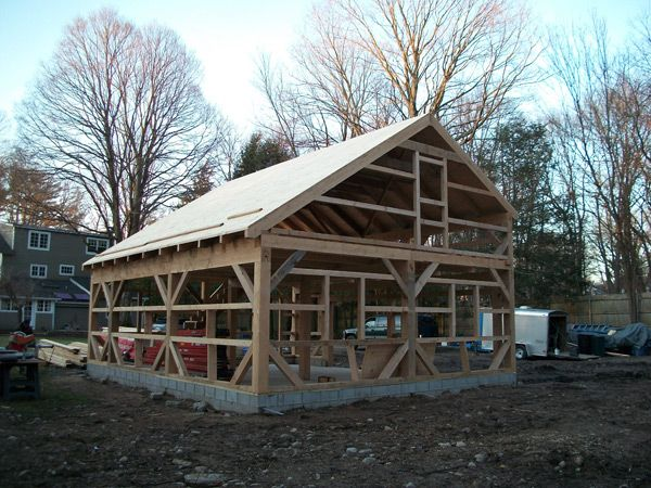 Salt Box Homes Salt Box Wood Barn Kits Barn Building