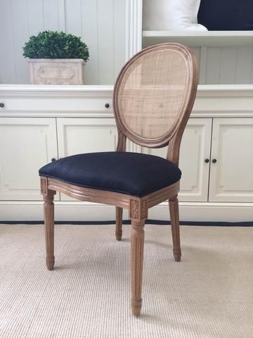 Avignon Round Back Dining Chair - Cane & Avignon round cane back dining chair | Dining chairs Rounding and ...