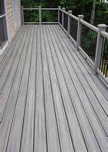 New Trex Transcend Deck Quot Island Mist Quot Color Decking
