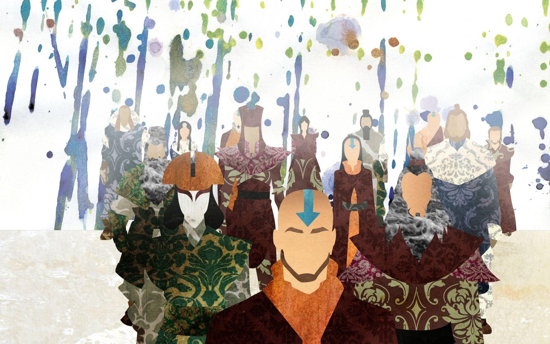The Past Avatar - Wall Paper Art. | Avatar kyoshi, Avatar the last  airbender, Avatar