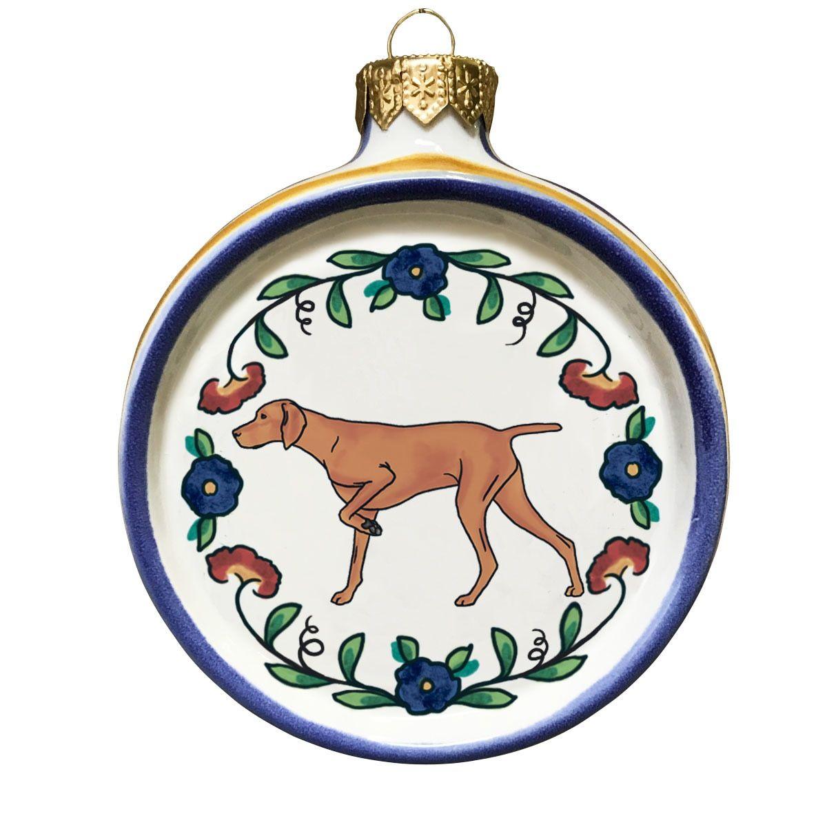 Vizsla Dog Lover Christmas Ornament Dog lovers christmas