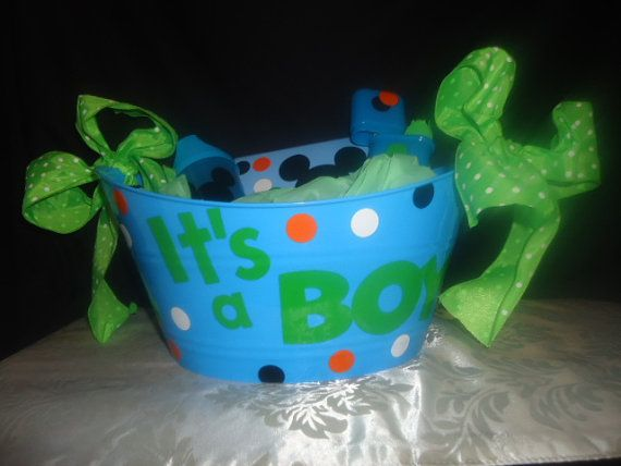 It's a BOY or It's a GIRL gift baskets by AChicandSassyBoutiqu, $10.00