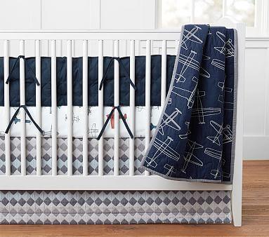 Braden Plane Baby Bedding Sets Vintage Plane Nursery Nursery Bedding Sets Plane Nursery