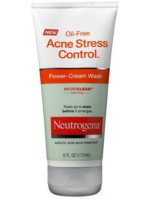 Neutrogena Oil Free Acne Stress Control Power Cream Wash Review
