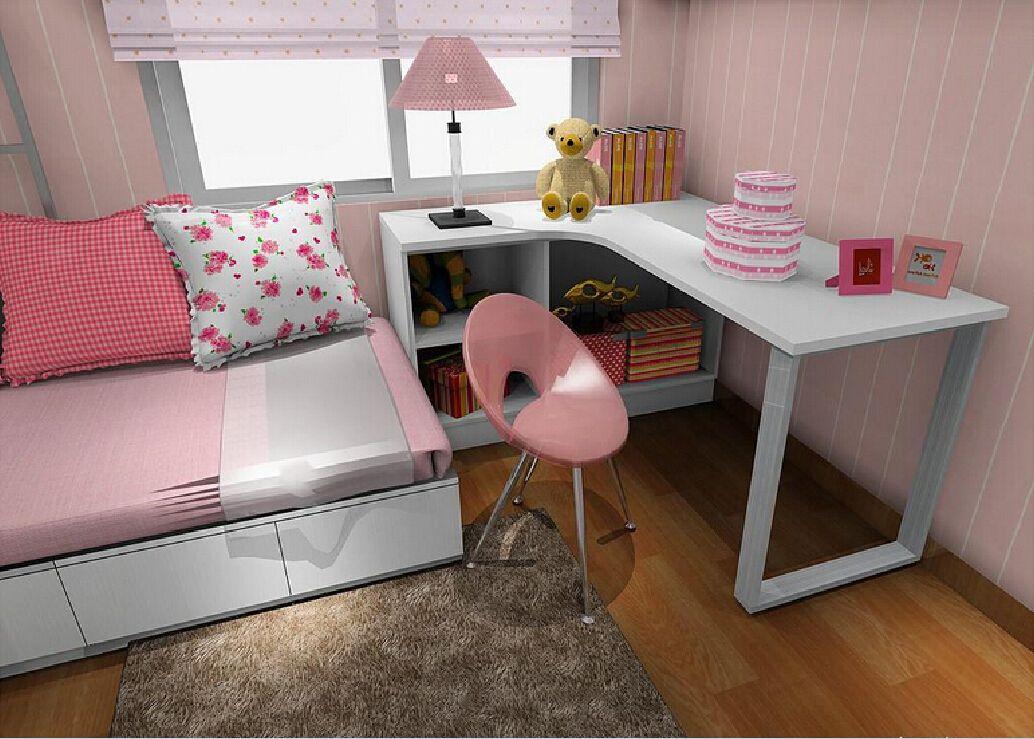 Bedroom Corner Desk