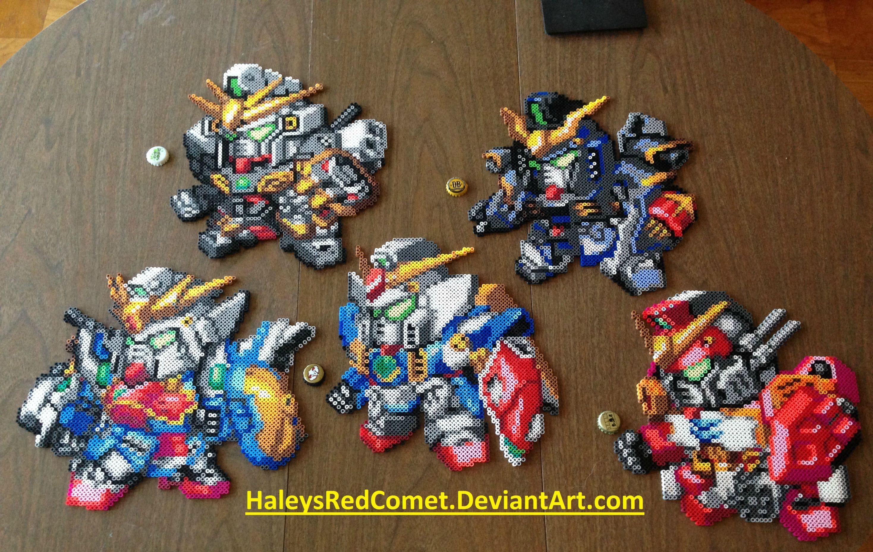 Gundam Wing Tallgeese Cross Stitch Pattern