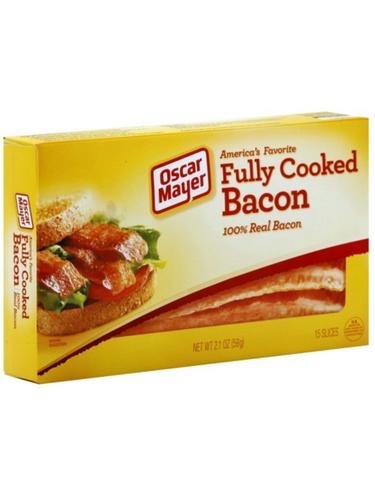OSCAR MAYER FULLY COOKED REAL BACON Kraft recipes, Bacon