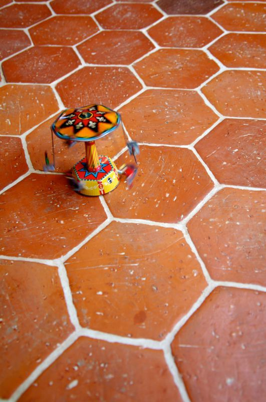 Hexagone 15x15 Saint Samson Enduit Decoratif Terre Cuite Carrelage
