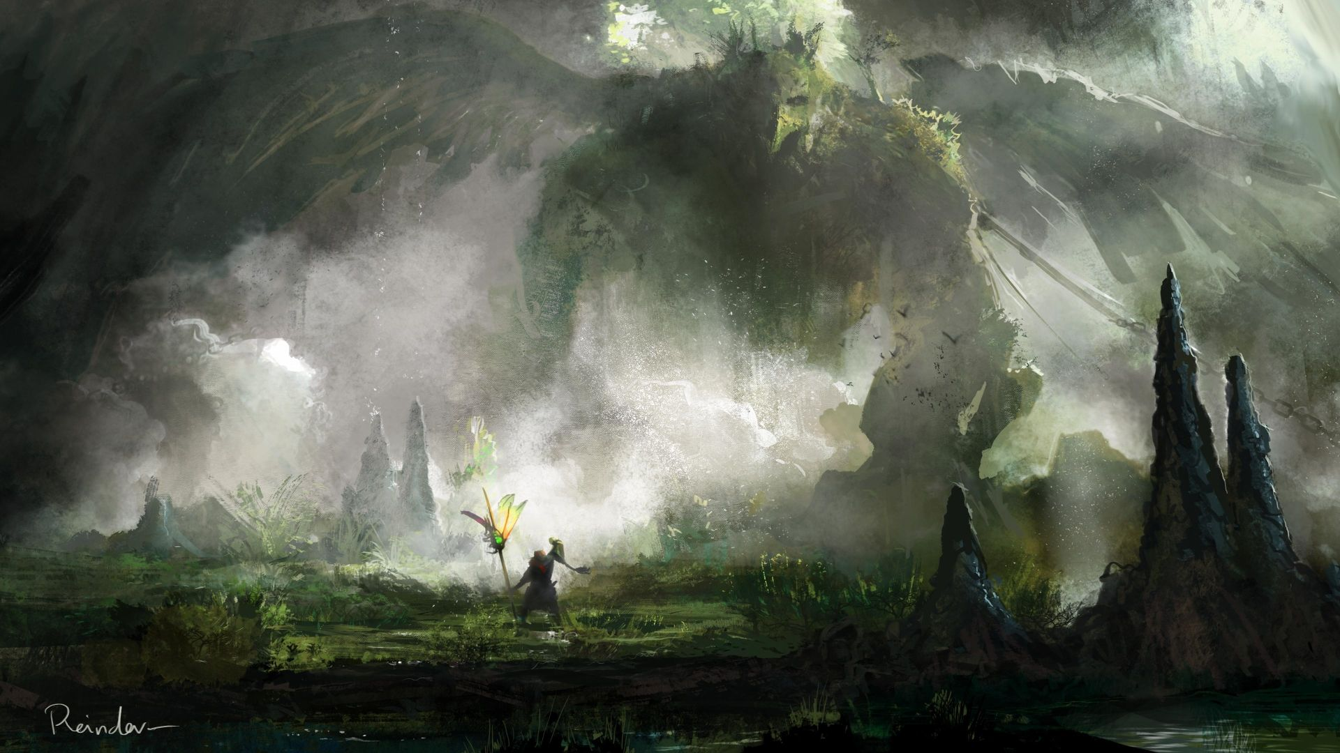 Fantasy Wallpapers 1920x1080 Drawings High Resolution