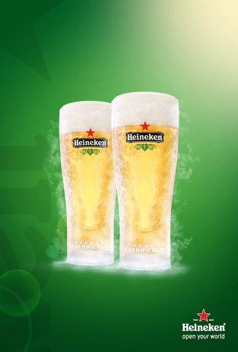 Heineken extra cold | Typical *YUMMIE* | Pinterest | Heineken