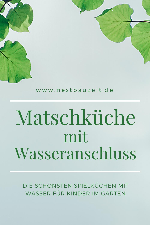 Matschkuche Fur Kinder Mit Wasseranschluss Pflanzenblatter Gartenspielzeug Spielgerate Fur Den Garten