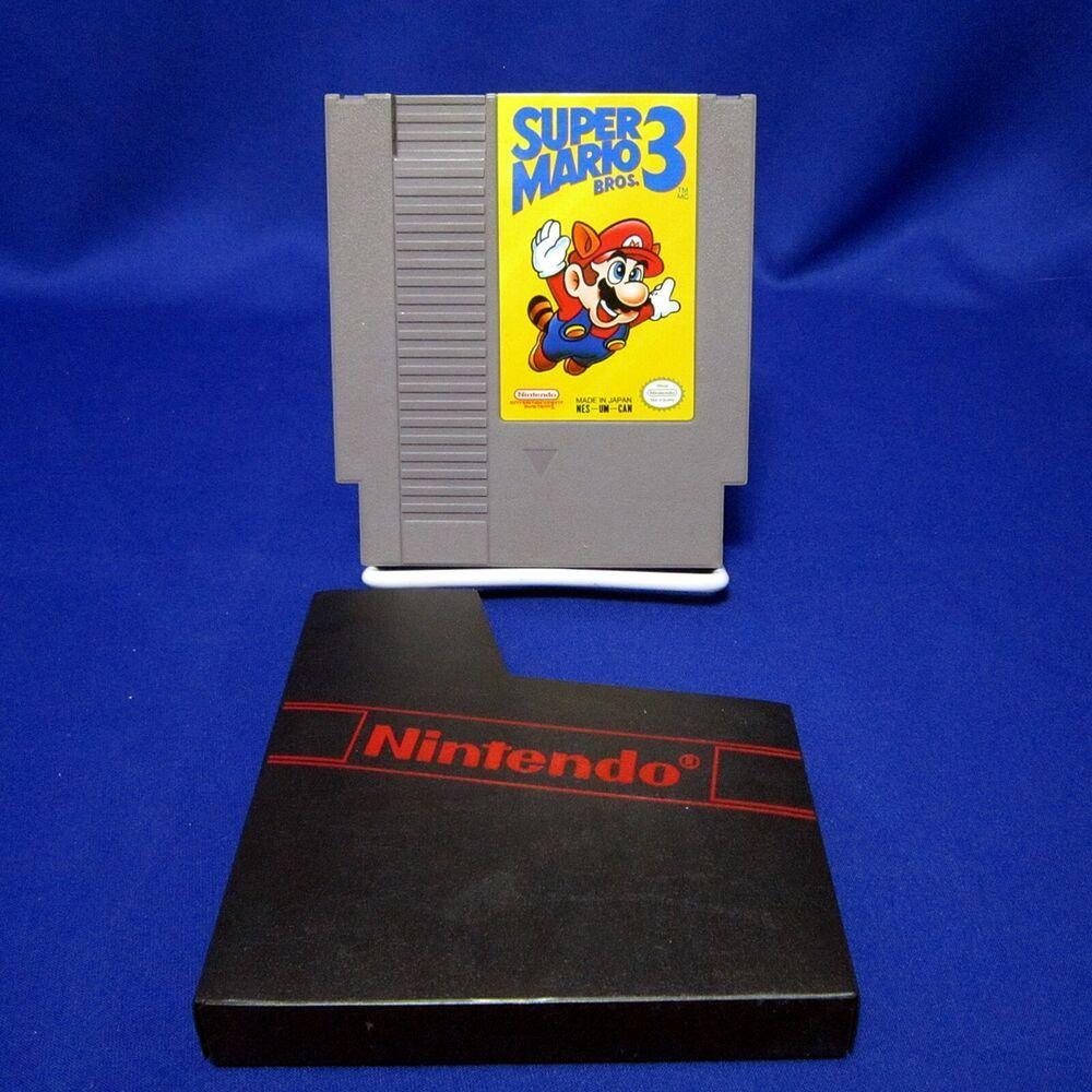 Nes Super Mario Bros 3 Cartridge Only Nintendo Tested 1990 Canada Nintendo