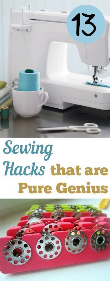 8 Easy Sewing Hacks Every Crafty Person Should Know These 8 beyond easy sewing hacks and tips are THE BEST! I'm so glad I found this AMAZING post! I feel like I can be super crafty now with these great tricks! Definitely pinning for later!