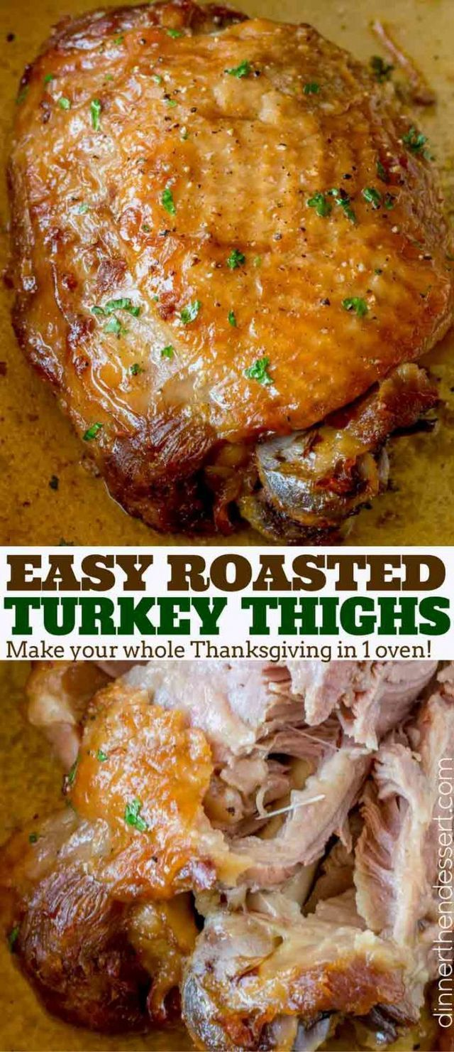 how to cook turkey thighs in toaster oven