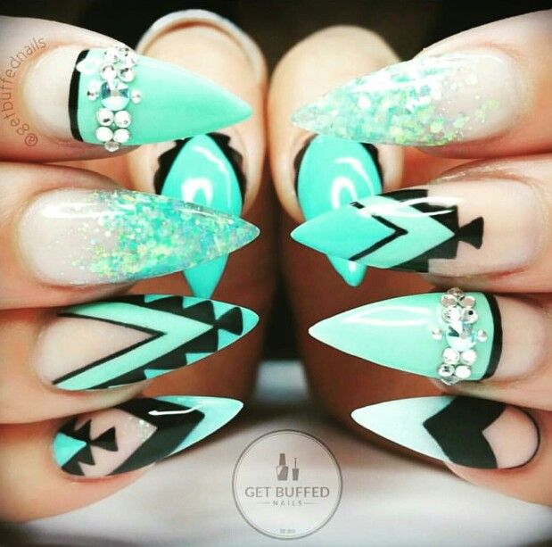 27 Stiletto Nails That Will Take Your Manicure to the Next Level ...