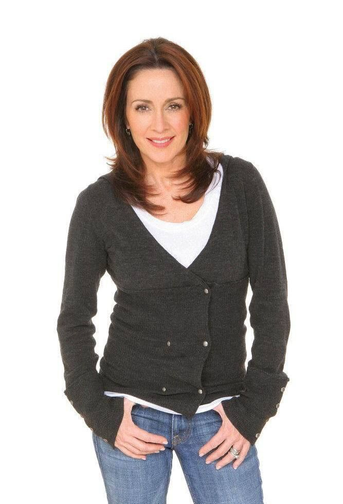 Patricia heaton leather pants And