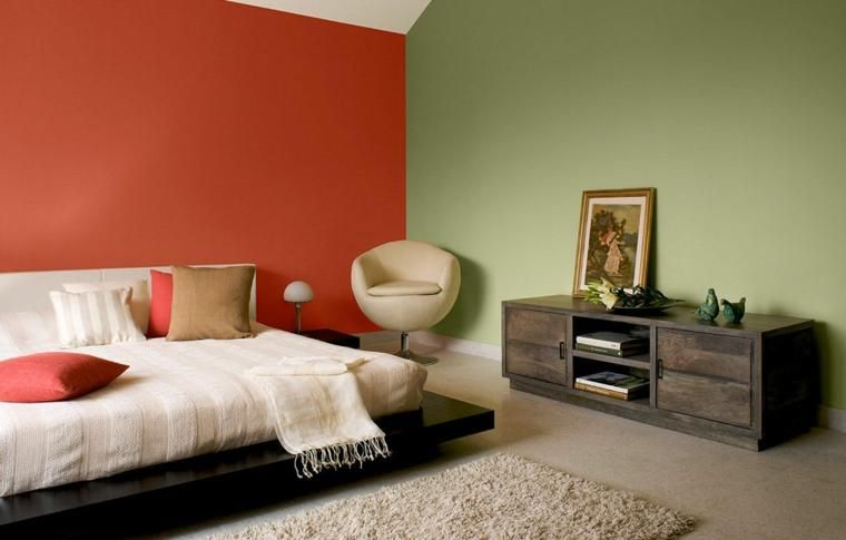 Modische Farben für Wände - unsere 14 Vorschläge Dekoration, Haus - wohnzimmer deko wand