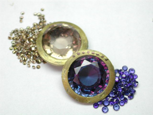 choosing the best stones and match the colours