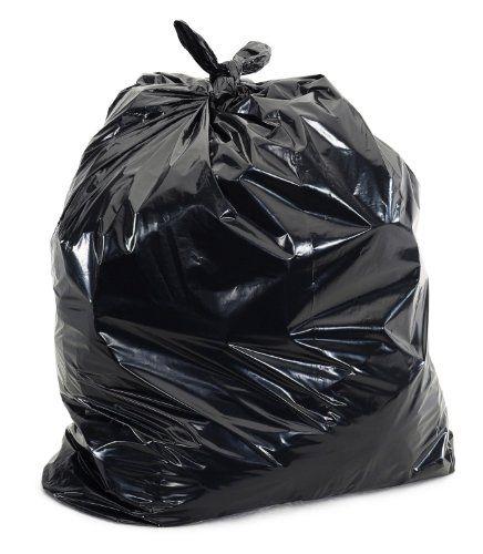 Plastic Prince Garbage Bags Black 100 Case Rubbish Bag Garbage Bags Garbage Bag