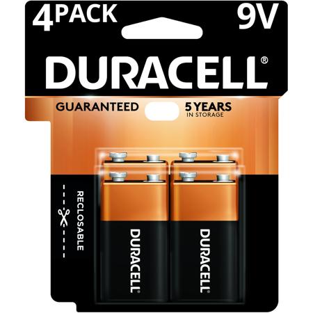 Duracell Coppertop 9v Battery Long Lasting 9v Batteries 4 Pack Walmart Com Duracell 9 Volt Battery Alkaline Battery
