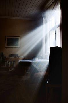 Dust Particles In Light Through Window Google Search Light Window Light Light Rays