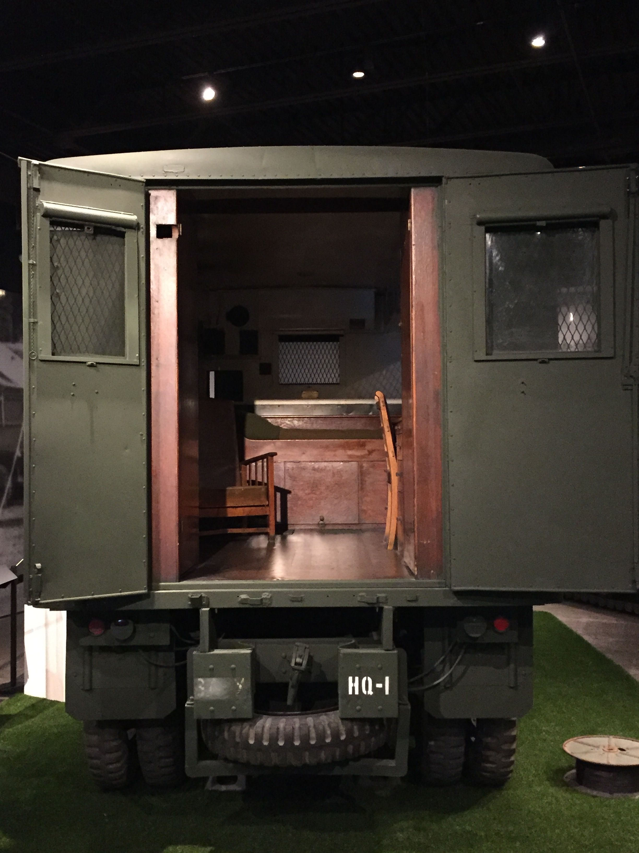 Converted Military Truck Used As A Camper By Patton General