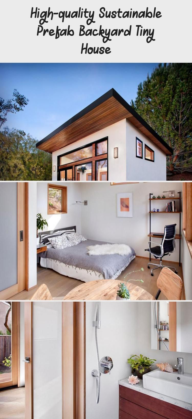 High Quality Sustainable Prefab Backyard Tiny House In