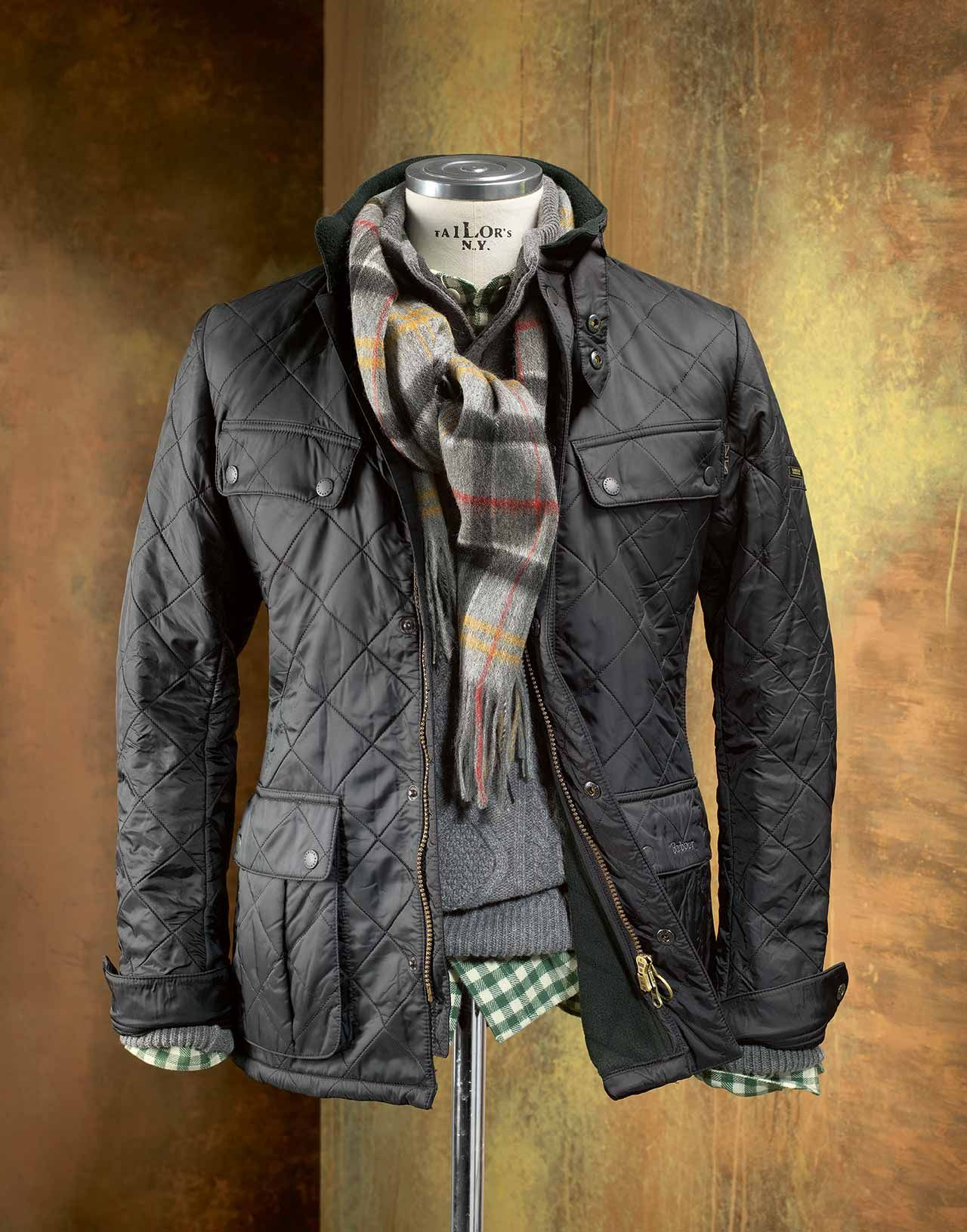 Barbour International Quilted Bariel Steppjacke, schwarz | Barbour ... : barbour polarquilt quilted jacket - Adamdwight.com