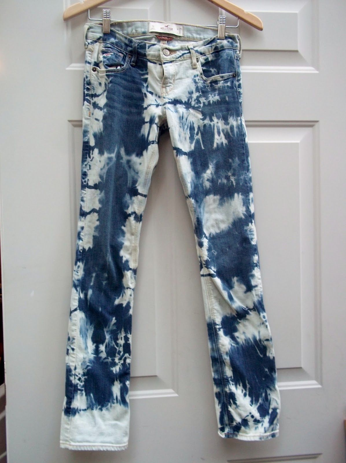 Wildcat Diy Tie Dye Jeans Bleached Jeans Diy Tie Dye Jeans Jeans Diy