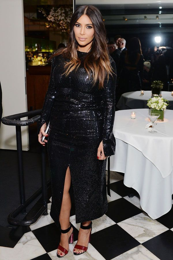 We Miss Kim Kardashian & Her Style #refinery29  http://www.refinery29.com/2016/04/108198/kim-kardashian-outfit-photos-lookbook#slide-12  Snakeskin to remind the haters that she could bite at any second....
