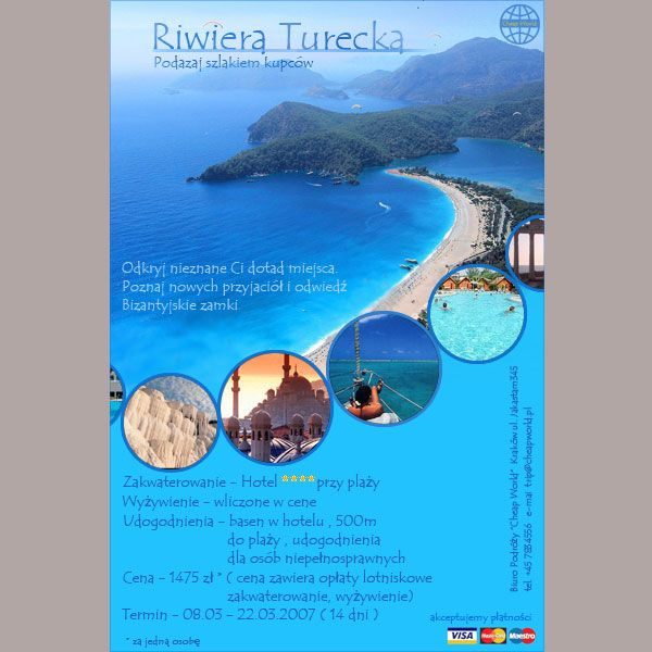 Brochure Travel Brochures Pinterest – Vacation Brochure Template