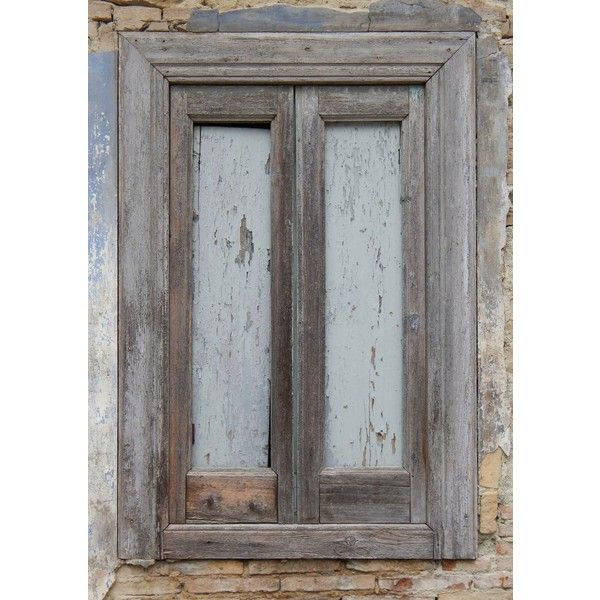 very old wood window frame ❤ liked on Polyvore featuring home, home ...