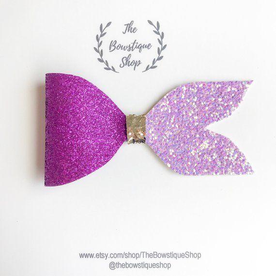 Carnival Glitter Bow