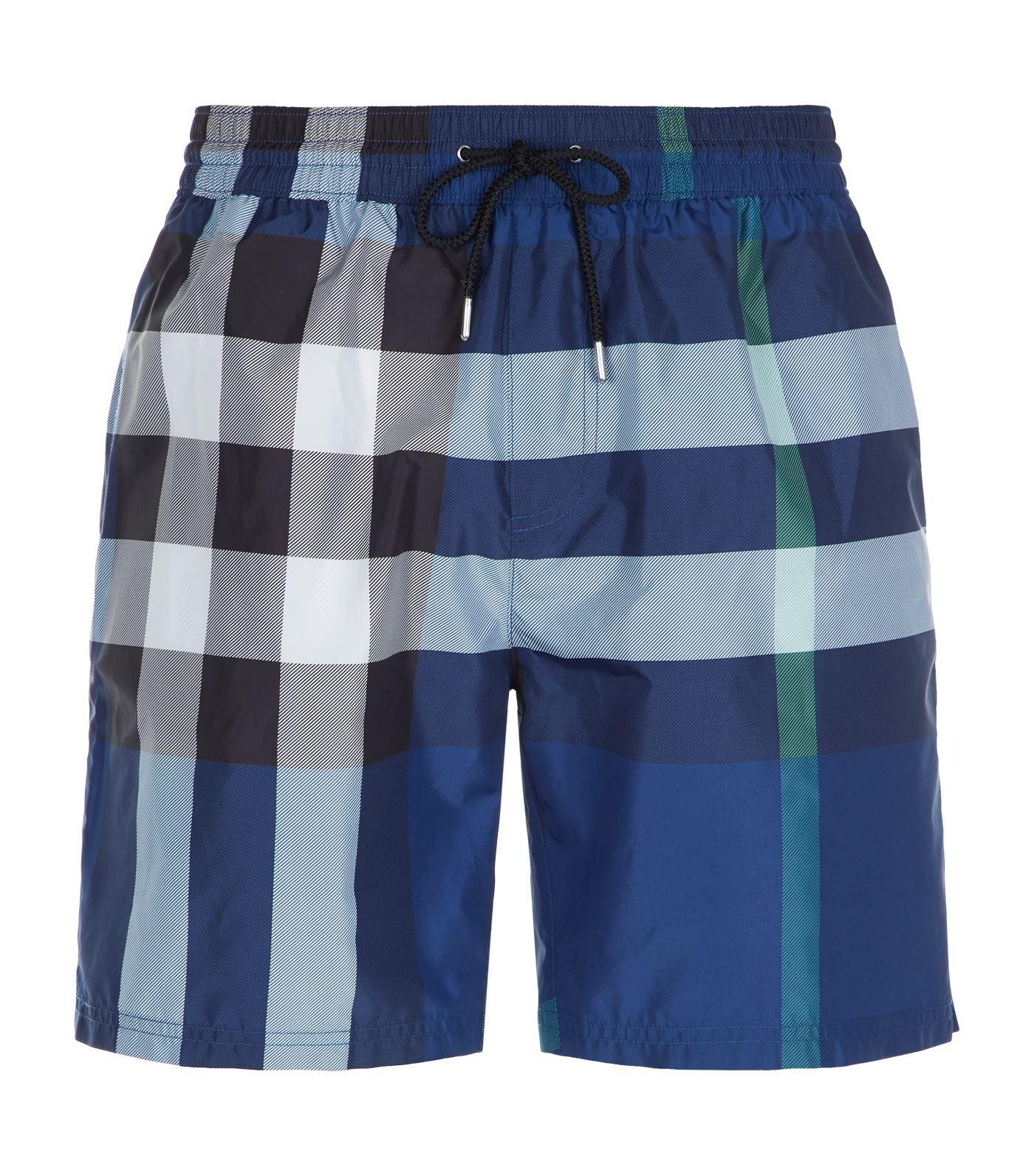 1bc3b75175 BURBERRY CHECK PRINT SWIM SHORTS. #burberry #cloth # | Burberry Men ...