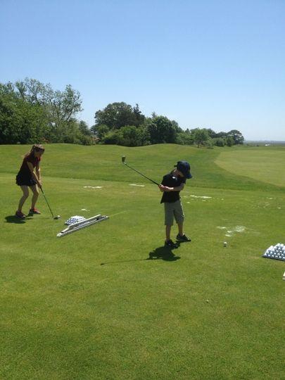 Kid S Golfing Atlantic City Country Club Kids Golf Golf Best Golf Courses