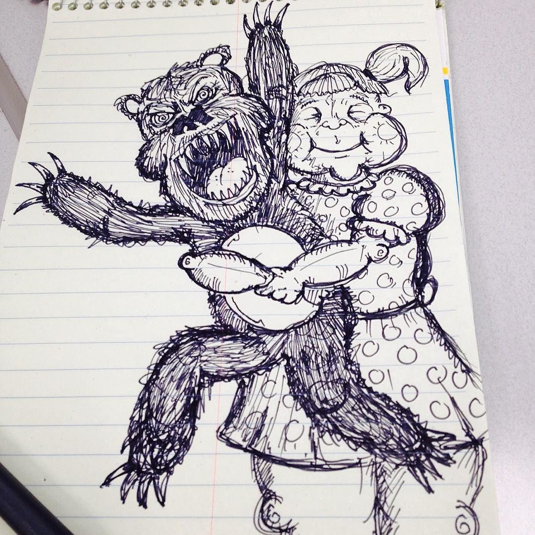 TeddyBear Sketch Sketchaday Creepy Bear Cute Drawing Sketching