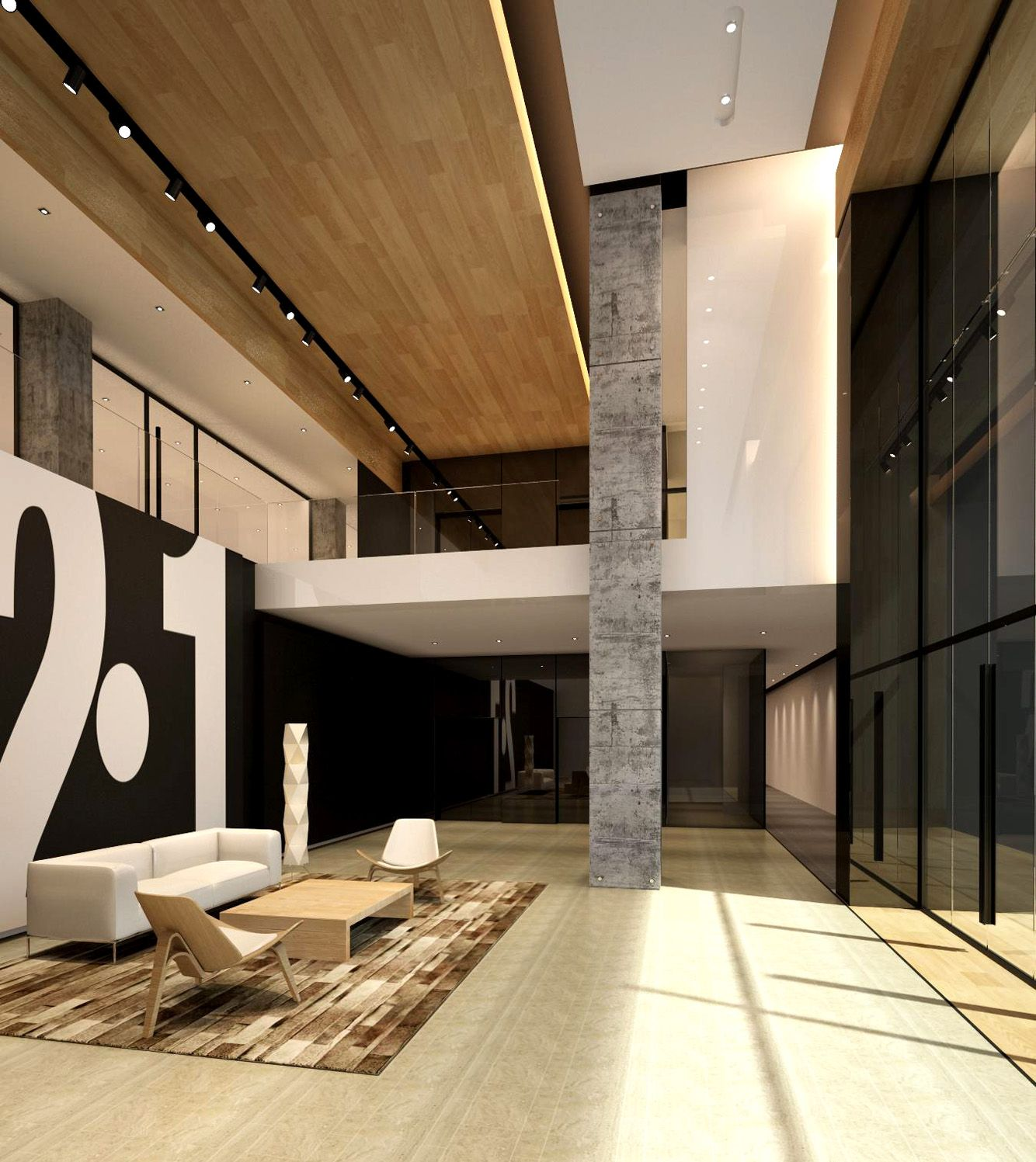 L2ds lumsden leung design studio red maple technology for Office lobby design