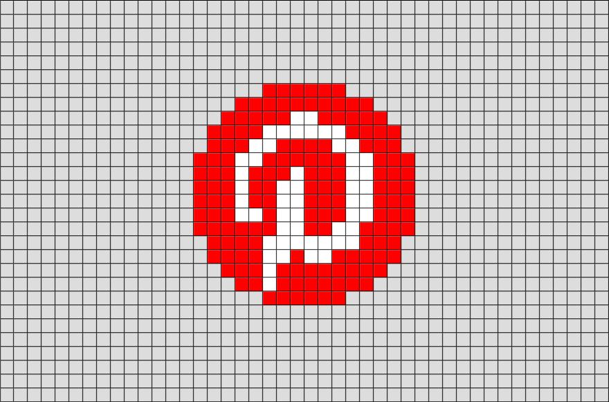Pixel Art Logo Pinterest