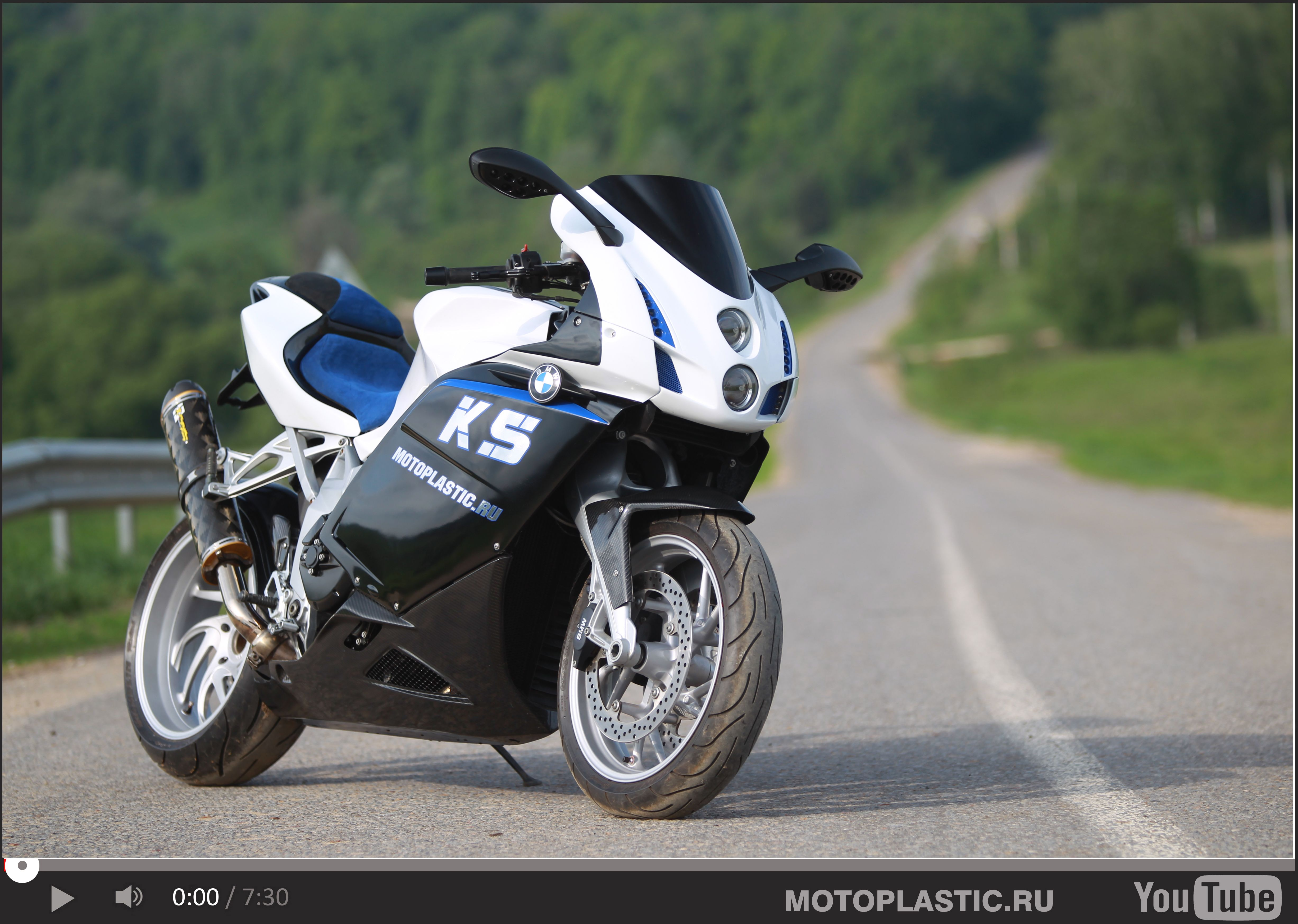 Bmw K 1300 S Tuning Custom Front Fairing And Tail
