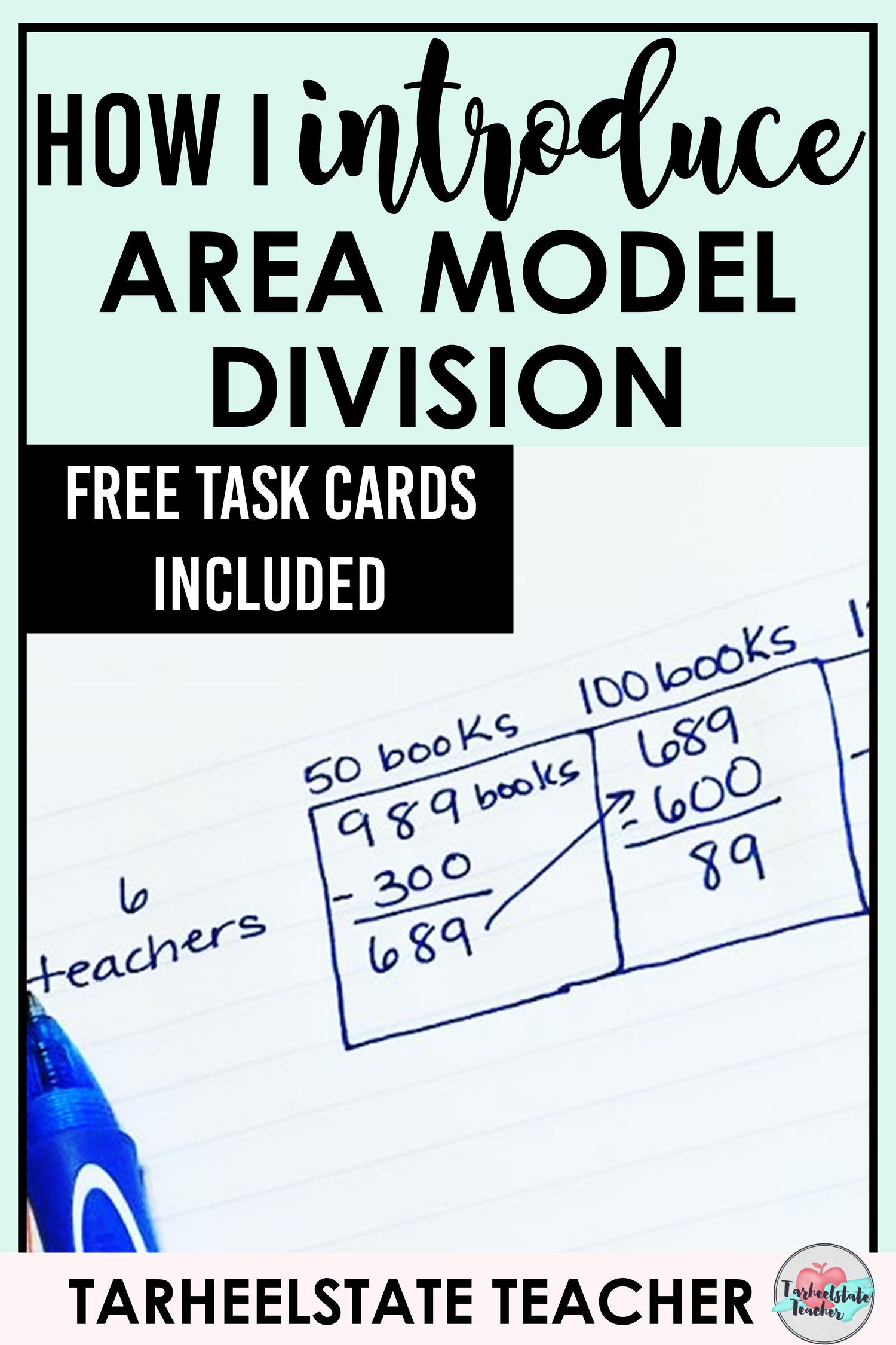 How To Teach Area Model Division