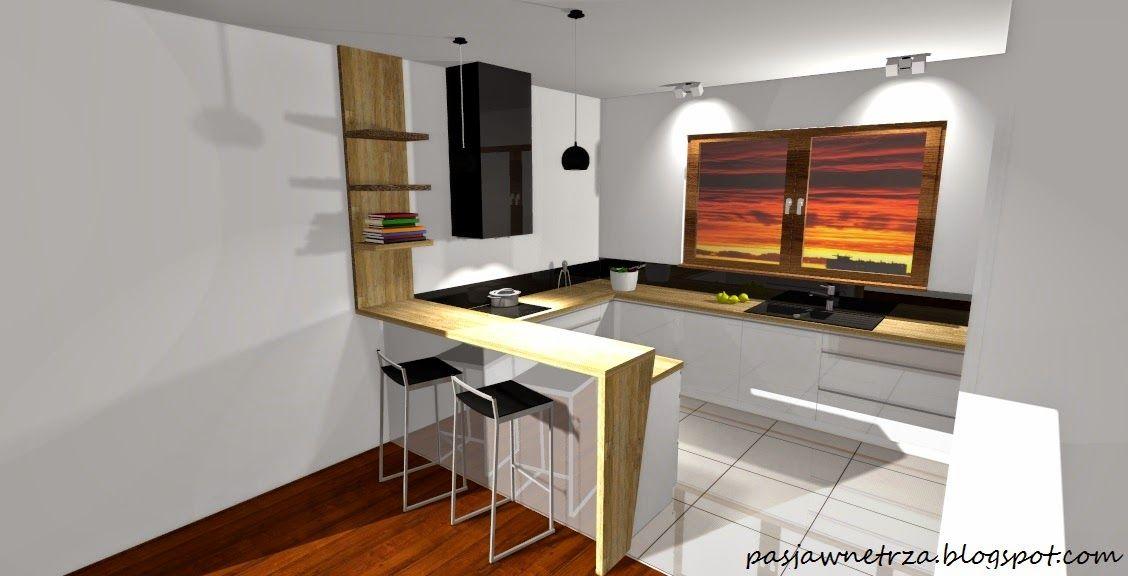 Image Result For Kuchnia Z Barkiem Projekty Home Decor Home Kitchen