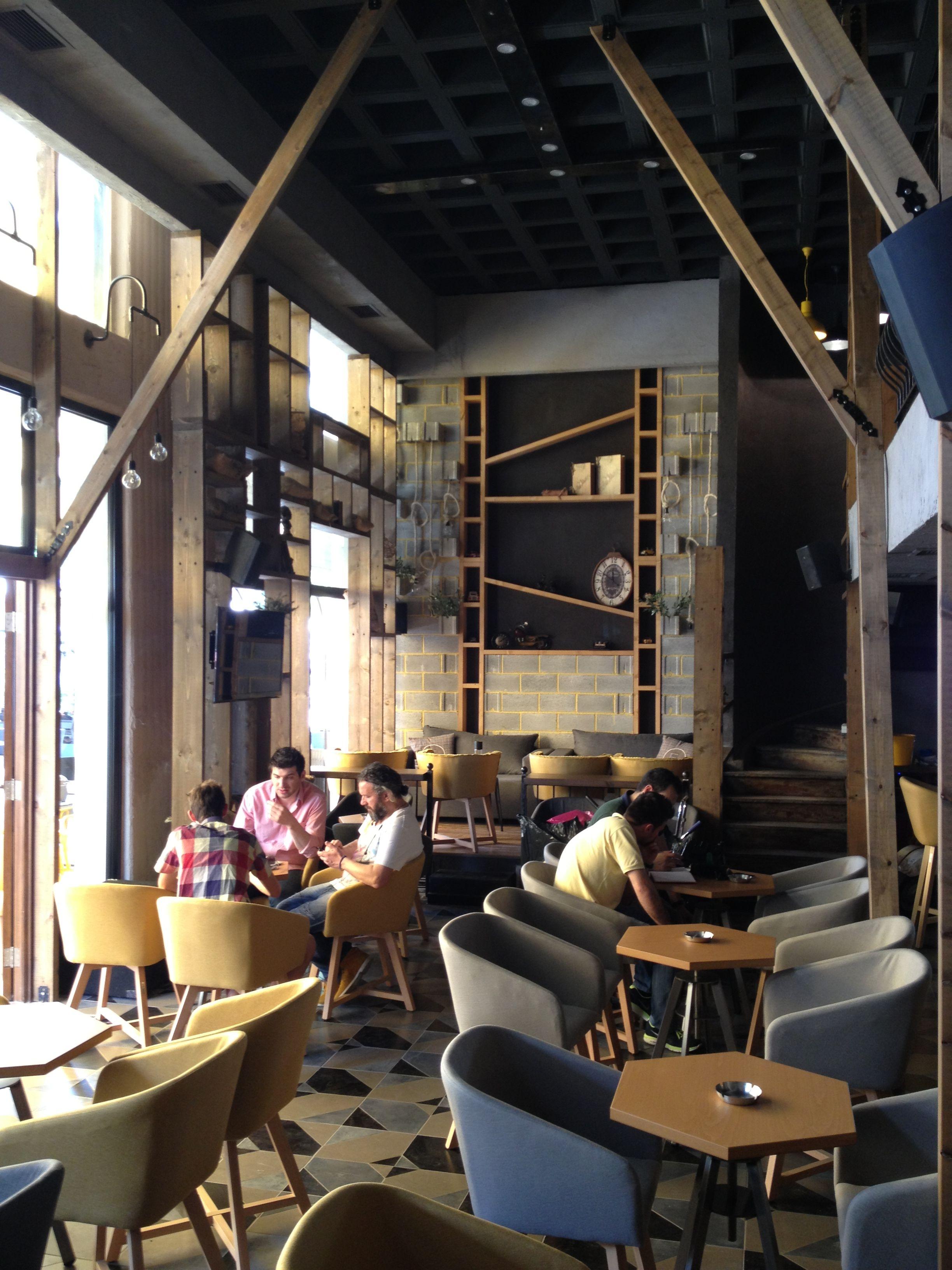 Interior of Rooms interior design EpilisisStudio bar industrial